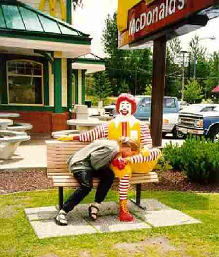Ronald's such a pimp.